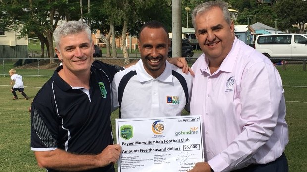 Australia's extended football family has joined forces to provide support for flood affected football clubs in south-east Queensland and Northern NSW following Cyclone Debbie.