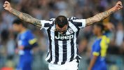 Simone Pepe scored an injury-time winner to see Juventus overcome the Foxtel A-League All Stars.