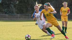 Gallery: Young Matildas in action against USA
