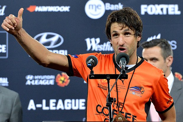 Joe Marston medallist Thomas Broich topped the popular vote for the FOXTEL A-League All Stars.