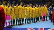 The Futsalroos were beaten by Brazil in Colombia.