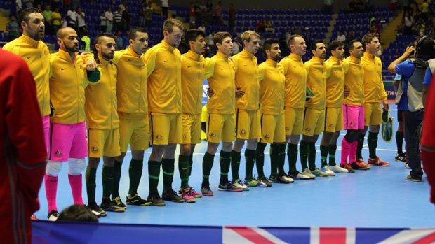 The Futsalroos were beaten by Brazil in Colombia.