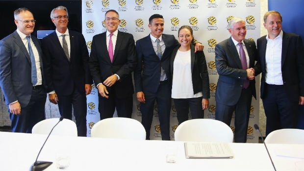 Football Federation Australia announce details of their new broadcast rights deal.
