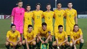 The Young Socceroos starting XI against Thailand.