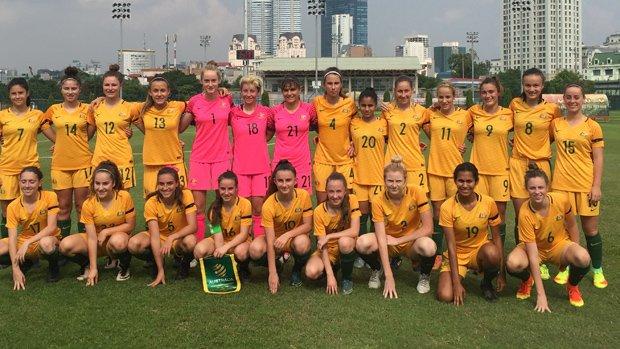 The Mini Matildas enjoyed an unbeaten tournament in Vietnam.