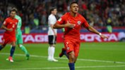 Alexis Sanchez became Chile's record goalscorer in his side's 1-1 draw with Germany.
