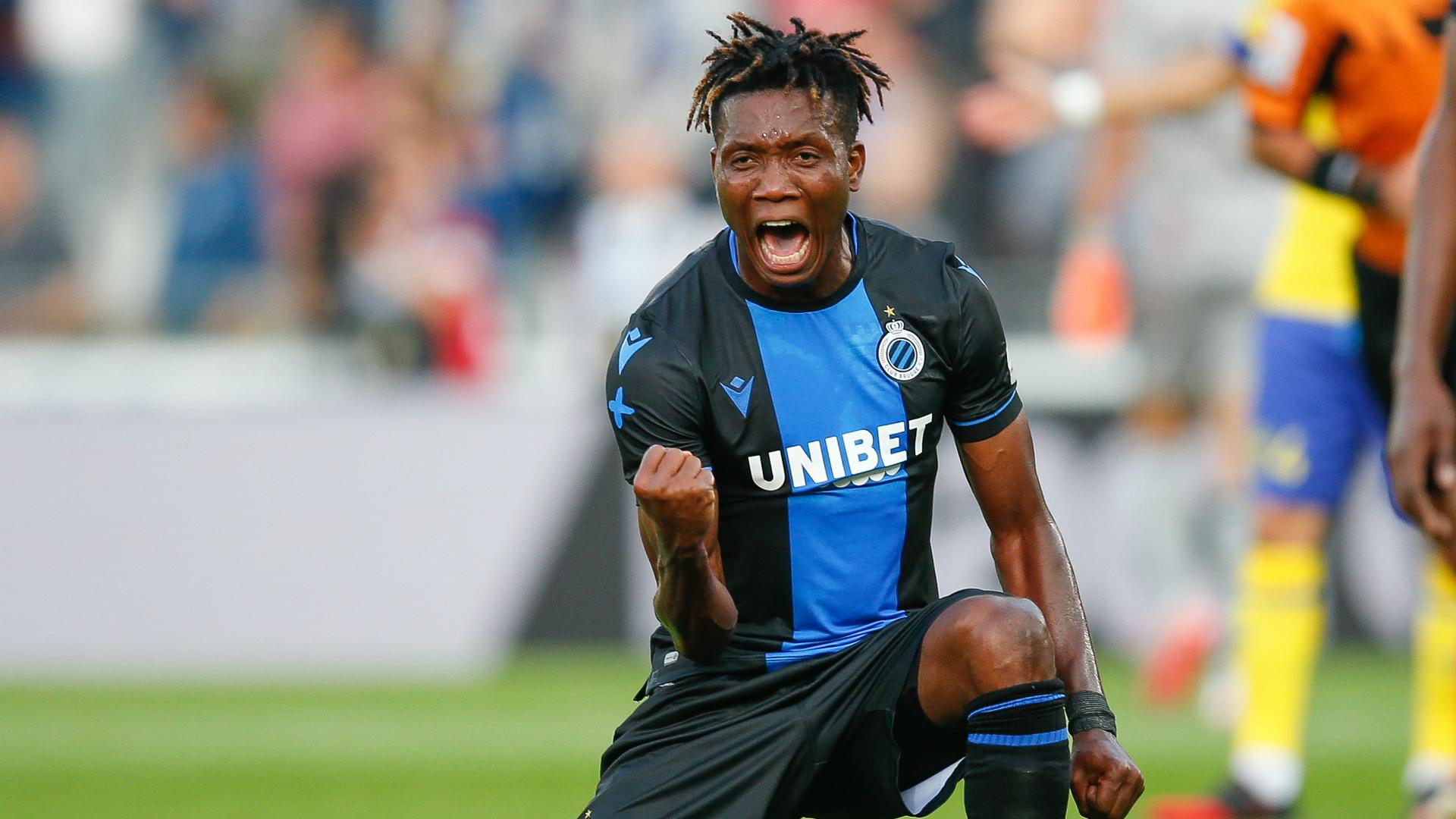 Okereke and Diagne goals stretch Club Brugge's unbeaten run in Belgian First Division A