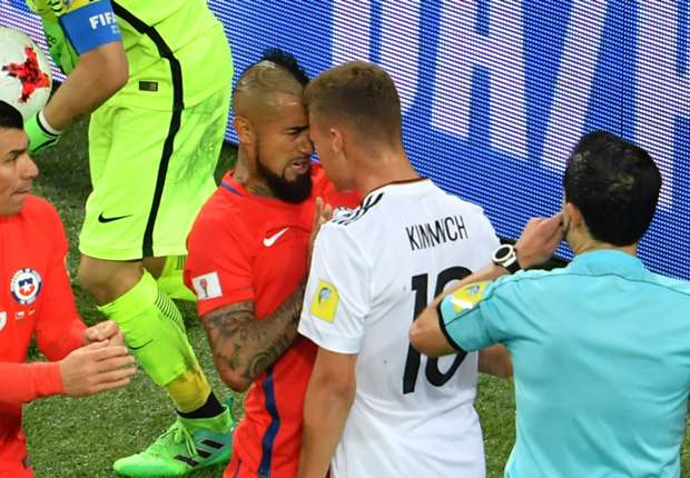 'Talk less, play more' - Vidal reveals what was said in heated exchange with Bayern team-mate Kimmich