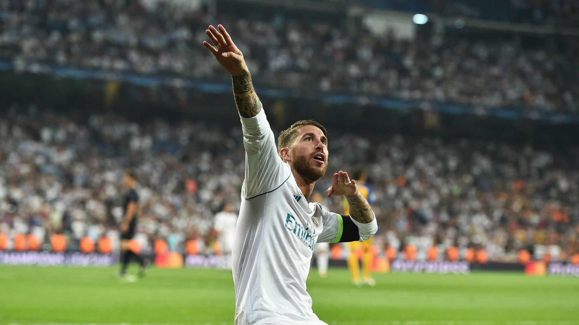 Fifa 18 ultimate 11 sergio ramos voted best center back - Sergio madrid ...