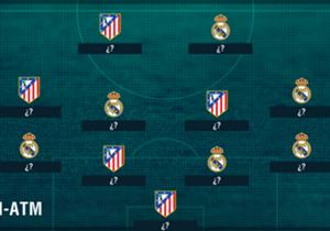 En Goal hemos aprovechado el derbi madrileño de este miércoles para confeccionar esta alineación con lo mejor de cada equipo en esta temporada.. ¿Harías algún retoque?