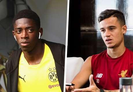 Wegen Coutinho und Dembele: Barca in