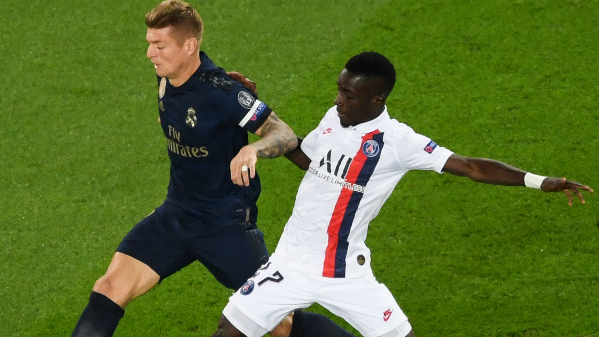 PSG defender Kimpembe hails 'monster' Gueye after Real Madrid display