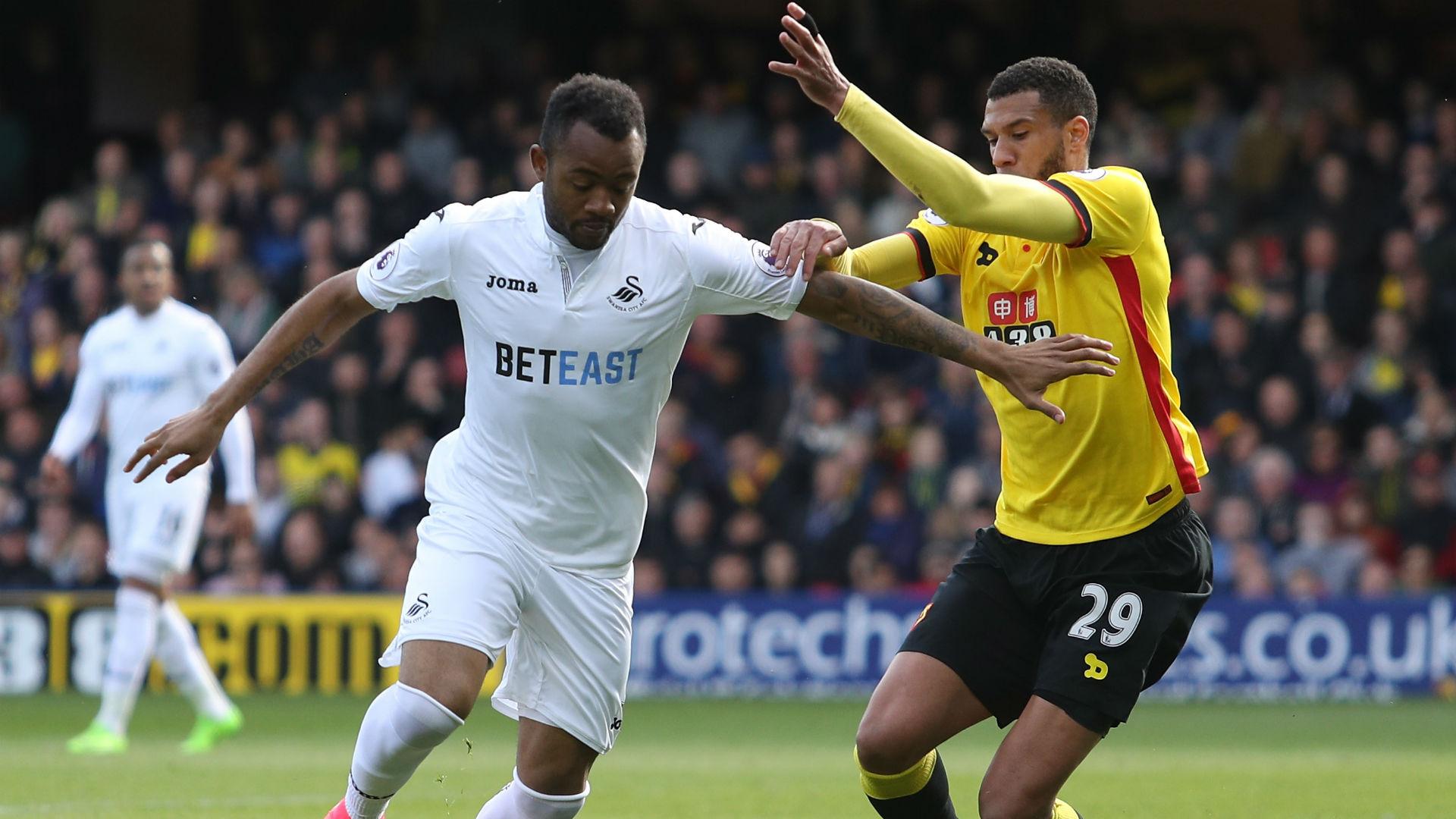 Jordan Ayew - Swansea City 15042017