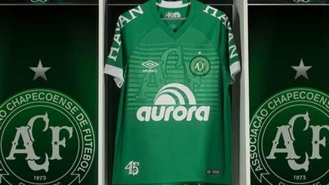 2480c78ab Chapecoense camisa 18-19 11 05 2018 - Goal.com