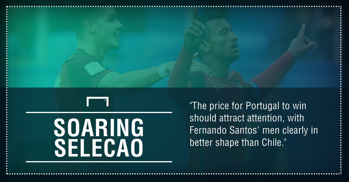 GFX Portugal Chile betting