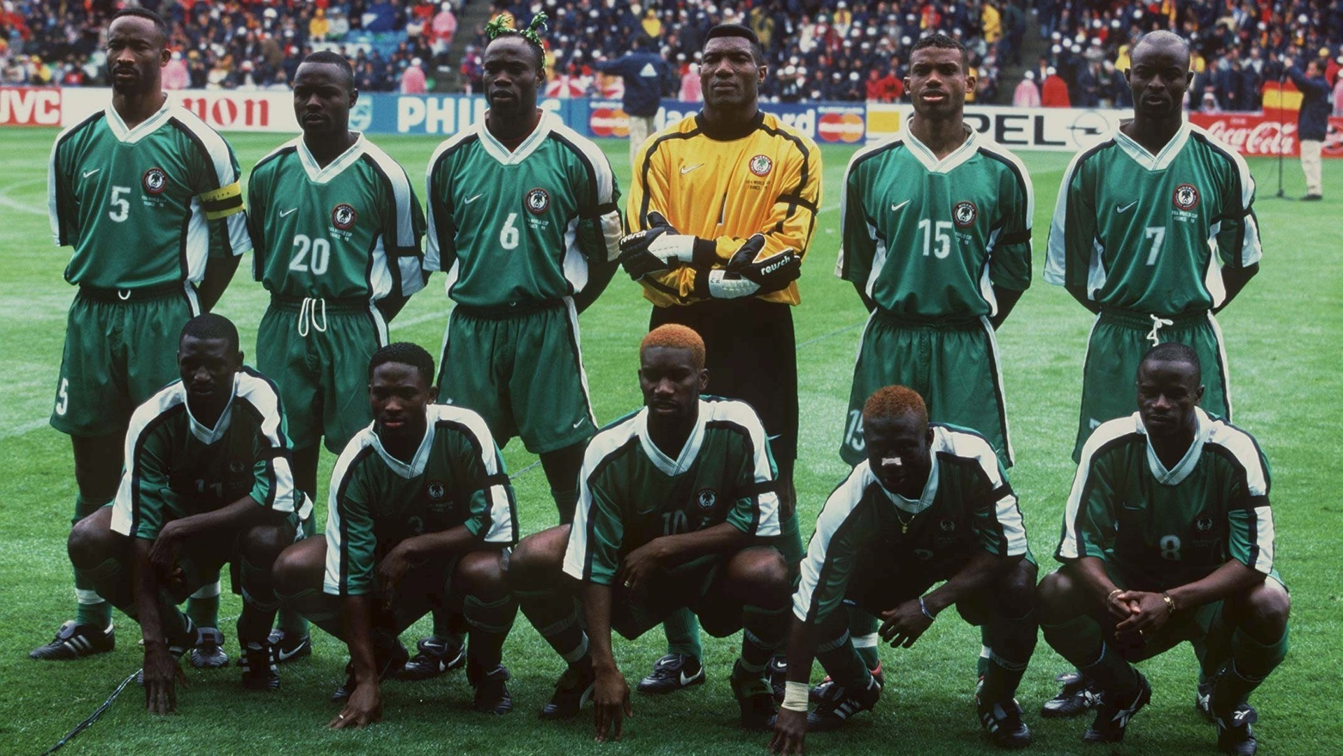 Nigeria 1998 vs. Spain