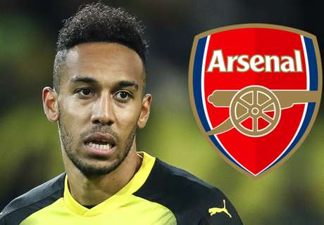 Arsenal target Aubameyang set for showdown talks