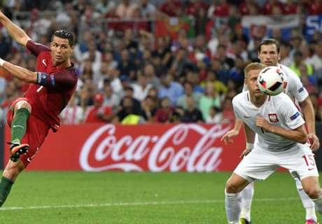 Portugal na pingels langs Polen