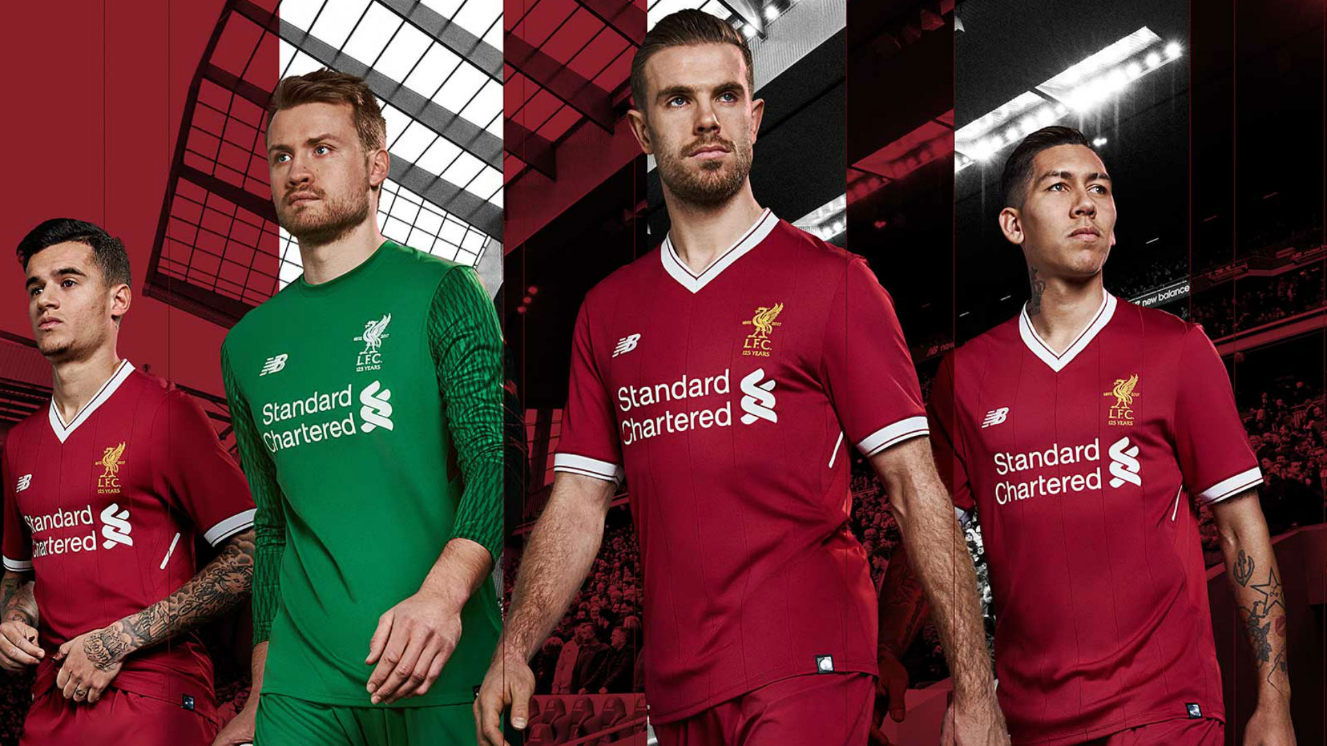 Liverpool Kit 2017-18
