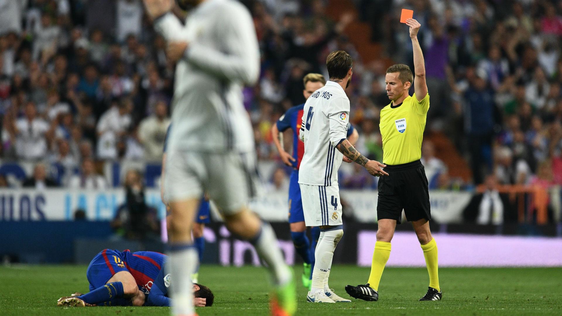 Sergio Ramos Real Madrid Barcelona