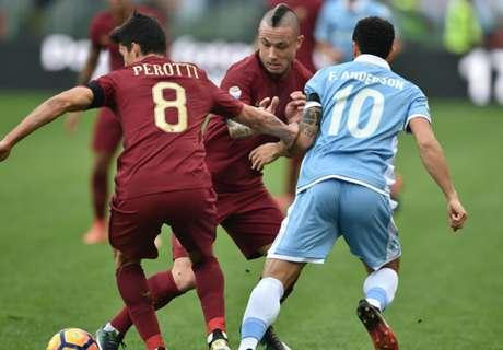 Lazio-Roma LIVE! 0-1, Strootman