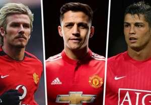 Alexis Sanchez ist die neue Nummer 7 bei Manchester United und könnte damit in große Fußstapfen treten. Wer trug die Nummer vor dem Chilenen?
