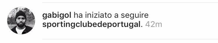 Gabigol Sporting Instagram