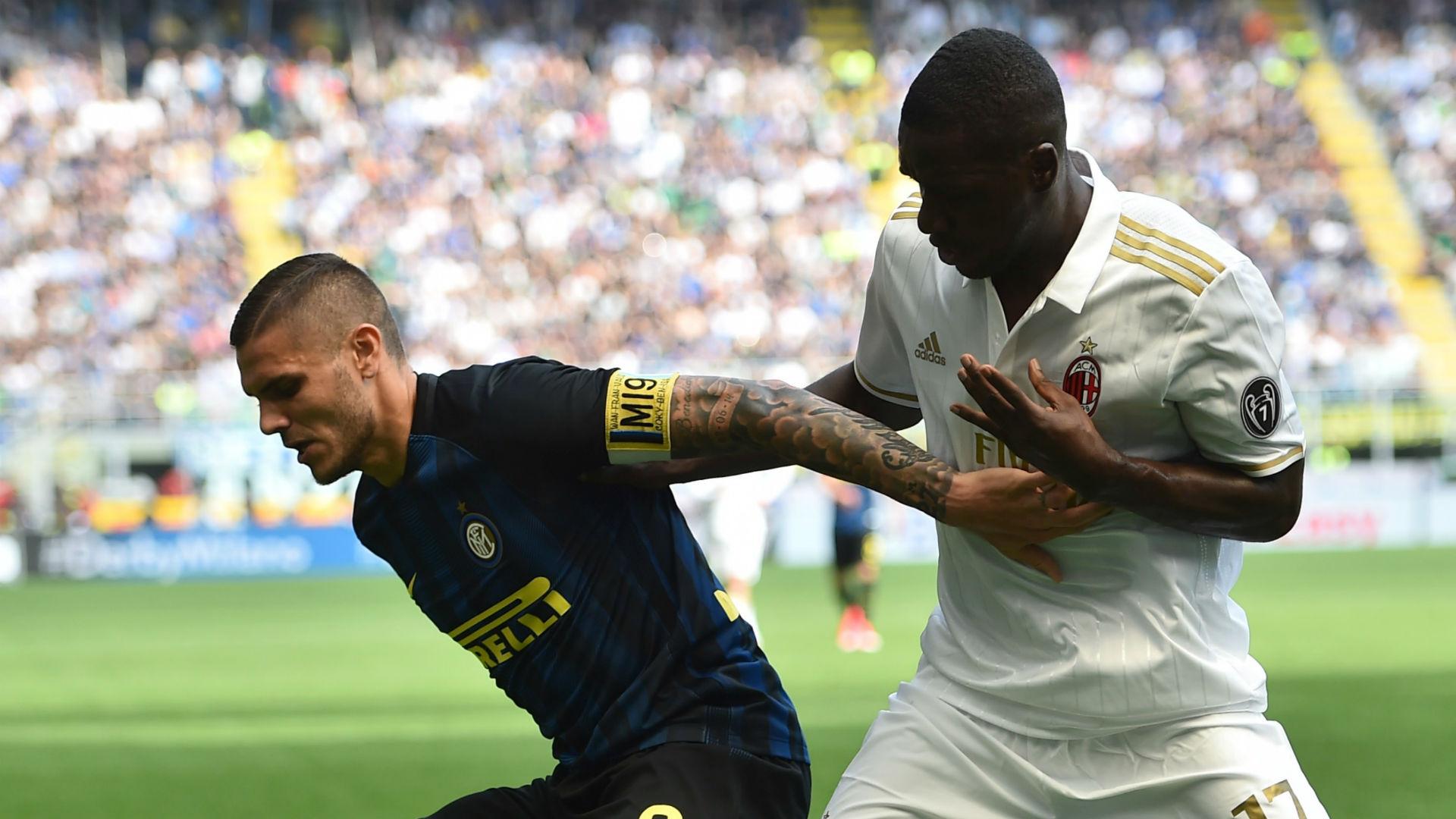 Mauro Icardi Inter Cristian Zapata Milan