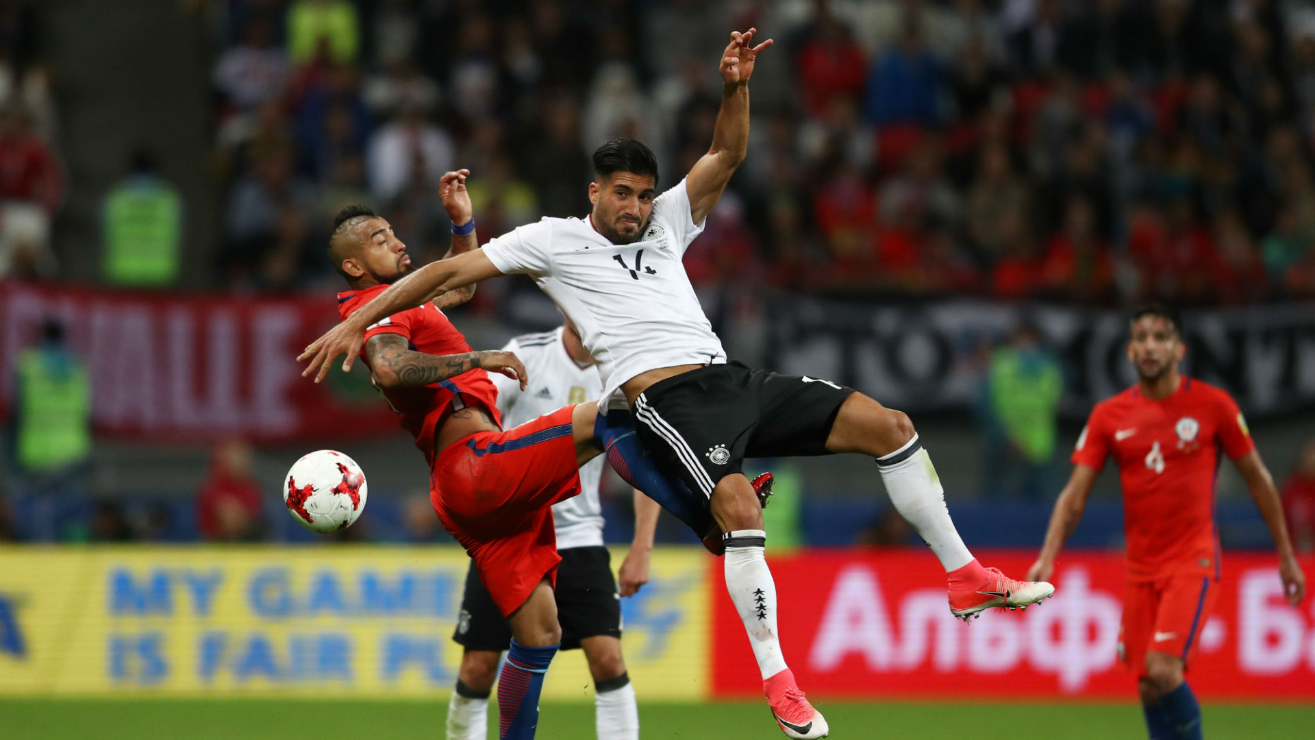 Arturo Vidal Germany Chile