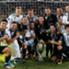 Real Madrid spanish players celebrating the UEFA Supercup