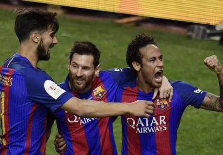 Barca crowned Copa del Rey winners