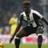 Moise Kean con la maglia della Juventus