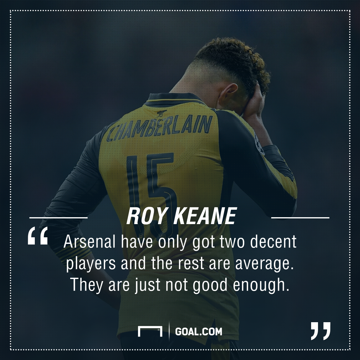 Roy Keane Arsenal PS