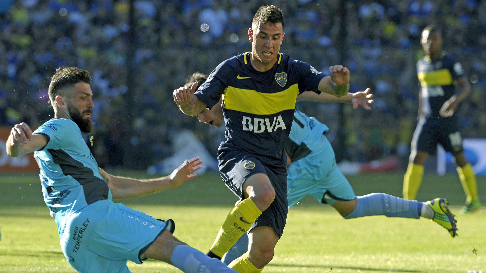 Espinoza es nuevo jugador de Boca