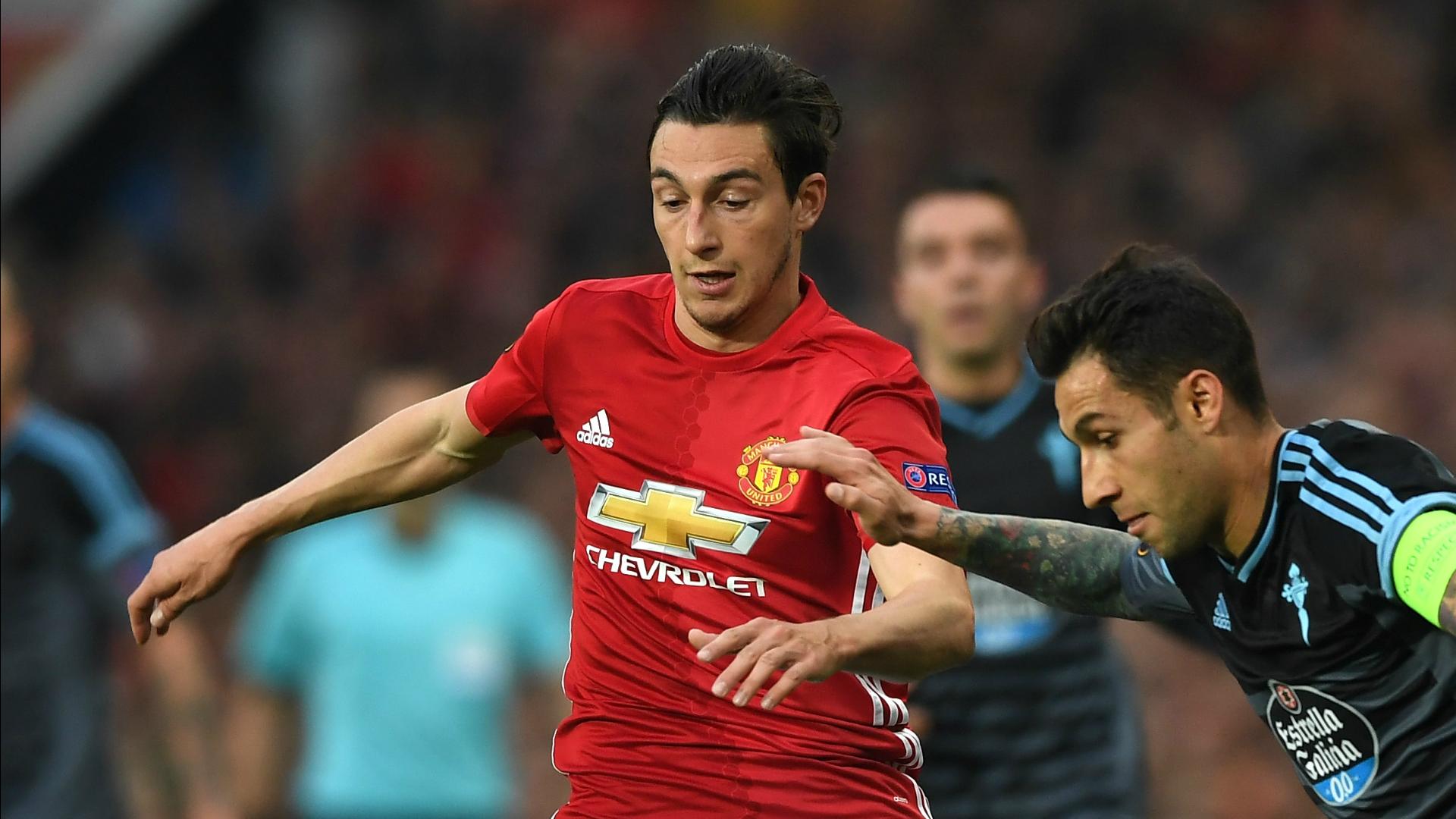 Matteo Darmian Manchester United Europa League 2016-17