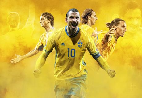 Zlatan Ibrahimovic, Raja Gol Swedia!