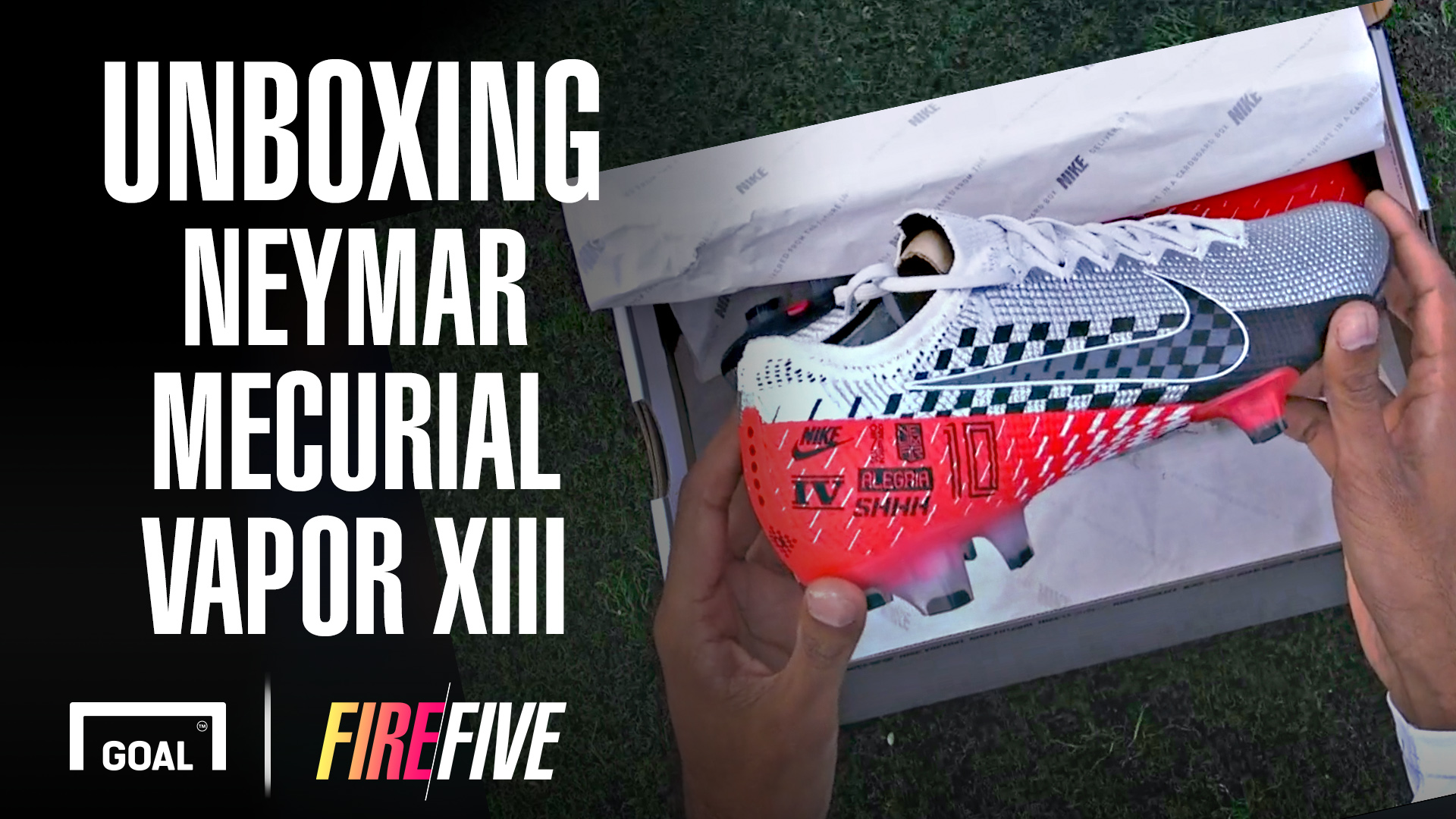 Video: Unboxing Neymar Nike Mercurial Vapor 13 'Speed Freak' & the adidas X99.1