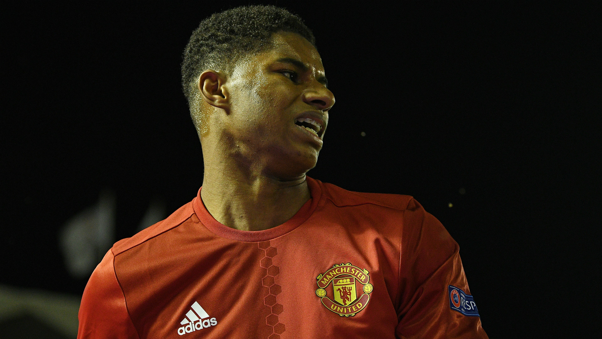 Marcus Rashford Manchester United Premier League