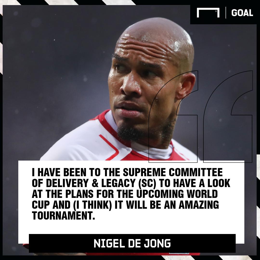 Nigel de Jong - 2022 Qatar World Cup will be amazing