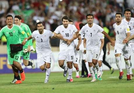 ►Iranianos comemoram classificação para a Copa