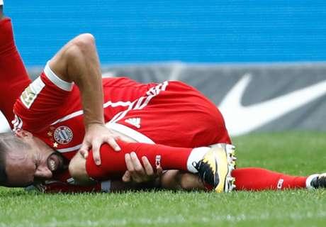 Bayern ispustio 2:0, Ribery se ozlijedio