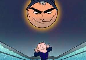 Wayne Rooney et l'eclipse...