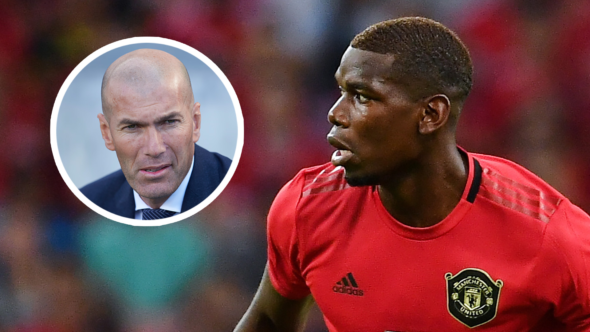 Zidane drops big Pogba move hint as he claims 'something could happen before the end of August'