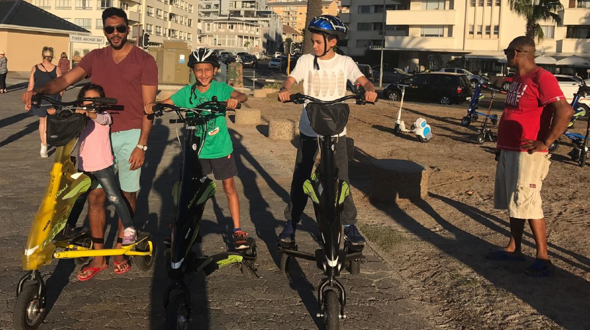 Shuaib Walters, fun with family, cape town city