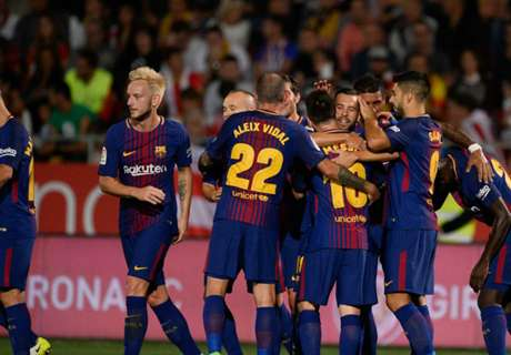Eigen doelpunten helpen stroef Barcelona