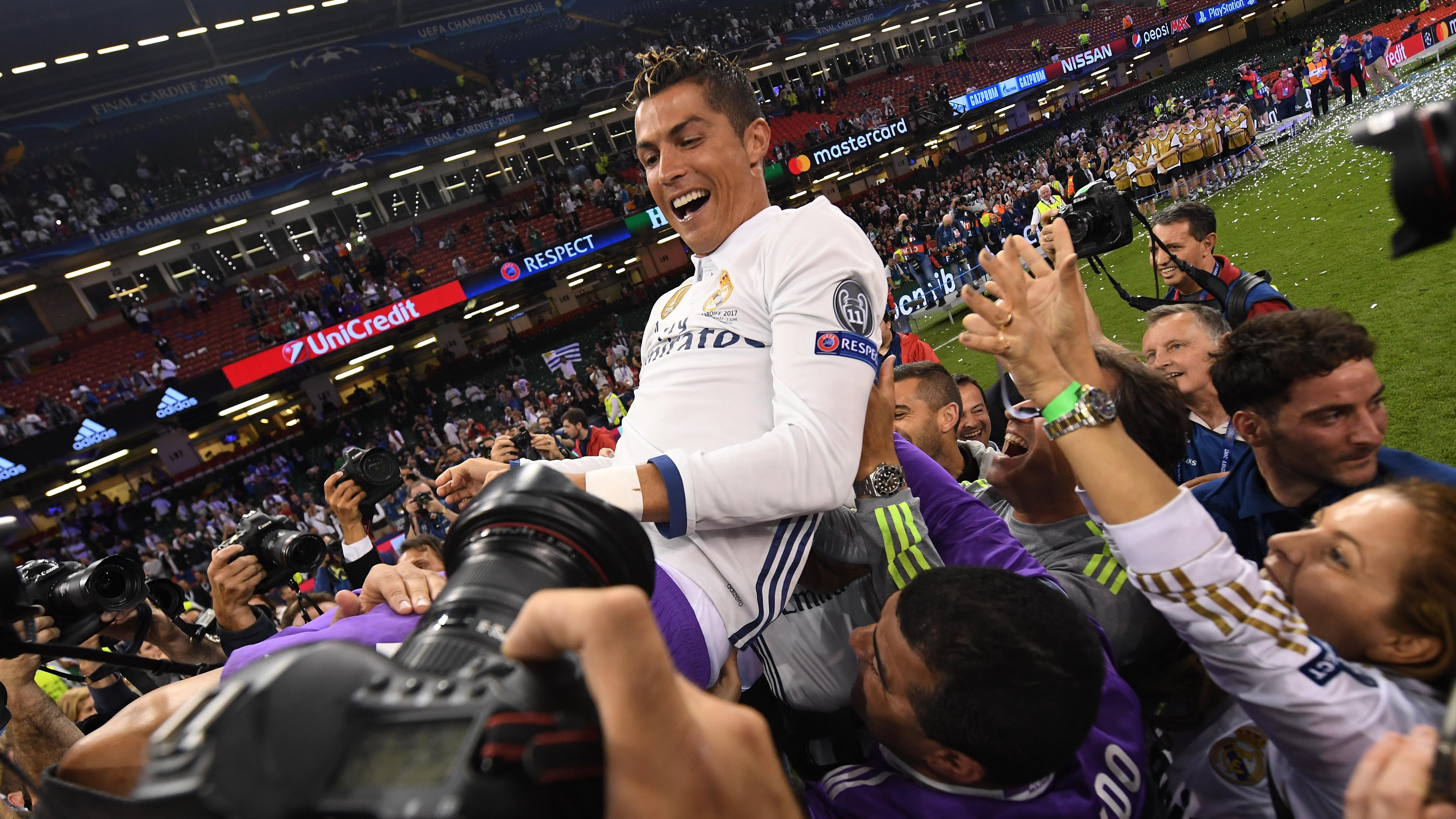 Vídeo: Jugada del hijo de Ronaldo asombra a fanáticos madridistas
