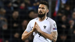 Olivier Giroud Luxembourg France World Cup Qualifiers 25032017