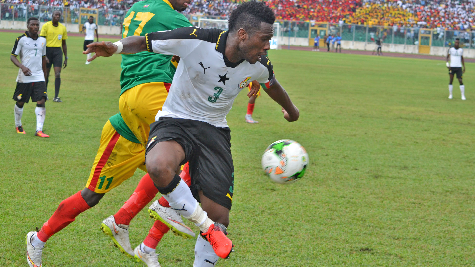 Gyan announces return to regular Ghana penalty duties