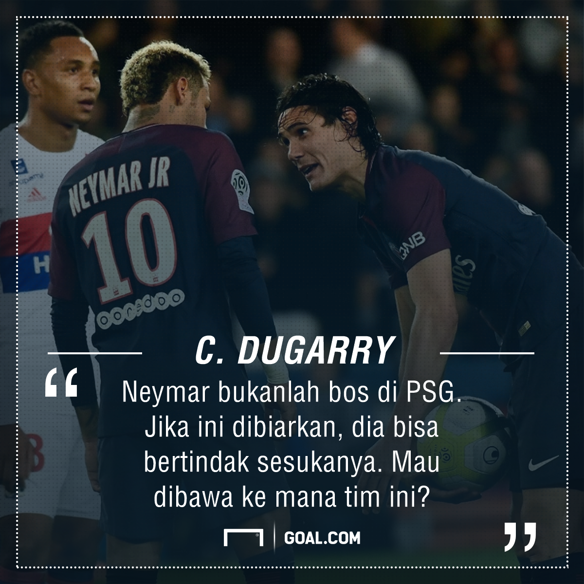 GFXID Dugarry - Neymar & Cavani