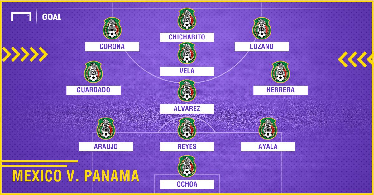 Mexico v Panama 3-4-3